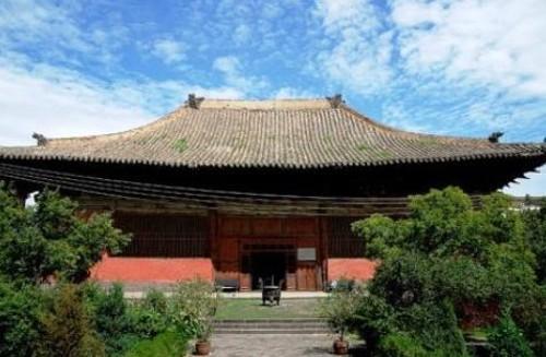 Monasterio de Shanhua, en Datong