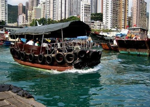 Aberdeen: vivir en una barca