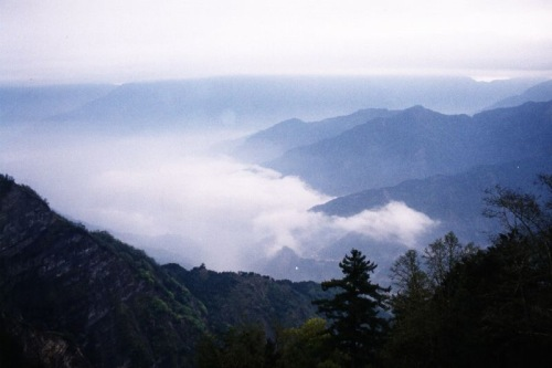 Vista del area de Alishan