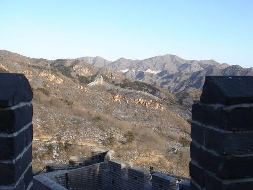 Vista de los alrededores de Badaling