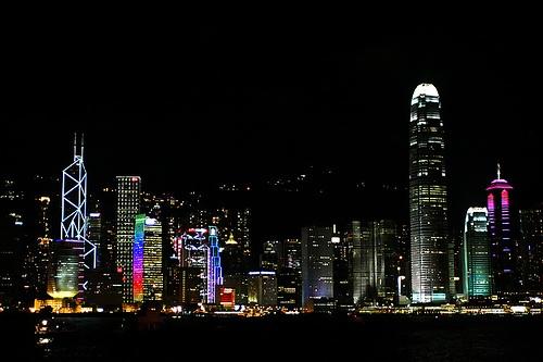 Bahia Victoria en Hong Kong