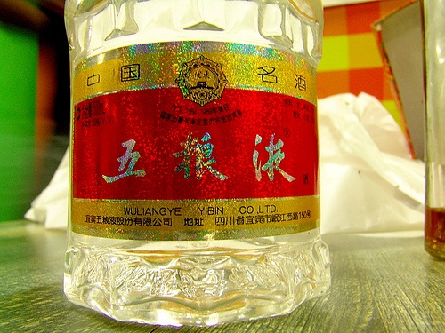 Baijiu, licor destilado nacido en China