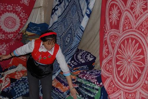 Batik de diferentes colores