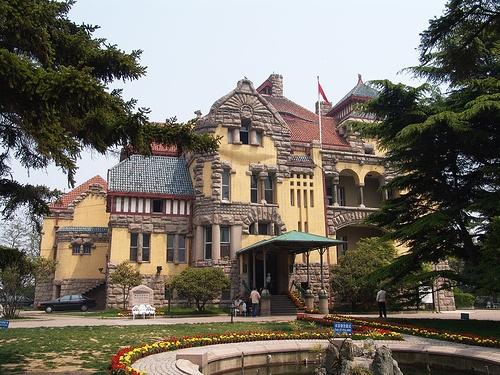 Casa de Invitados, arquitectura alemana en China