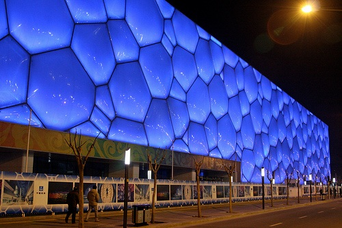 Centro Acuatico Nacional en Pekin