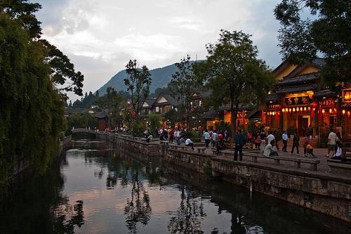Historia en las construcciones de Lijiang