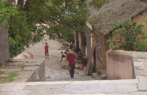 Las inmediaciones de Yangshuo, en la China rural