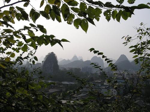 Colina Fubo en Guilin
