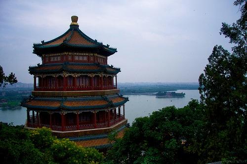 Colina de la Longevidad en Pekín