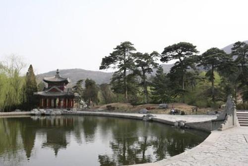 El parque de las Colinas Fragantes de Beijing