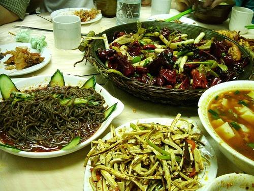 Mezcla cultural en la comida de Yinchuan