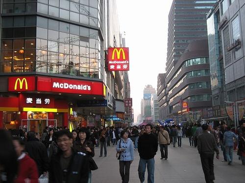 Calle Taiyuan Jie en Shenyang