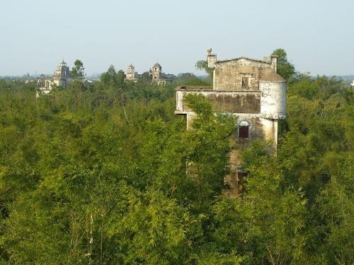 Torres Kaiping cerca a Canton