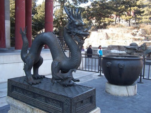 Dragon Celestial de China