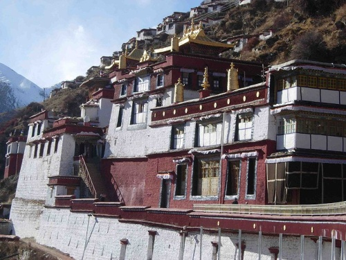 Monasterio Drigung en Tibet