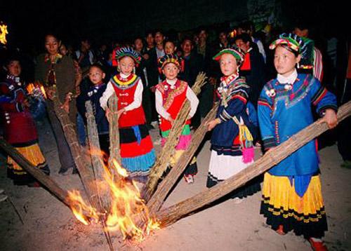 Etnia Yi, de Sichuan