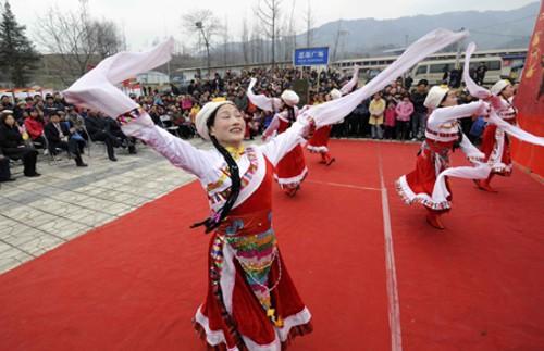 Festival de la Primavera de Pengzhou (Sichuan)