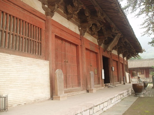 Salon oriental en el Templo Foguang