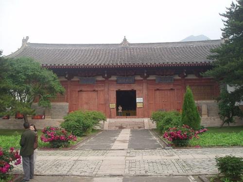 Salon Manjusri en el Templo Foguang