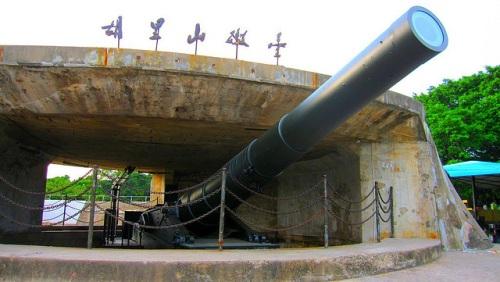 Fortaleza Hulishan en Xiamen