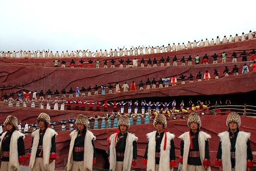 Impression Lijiang, show de diversas culturas