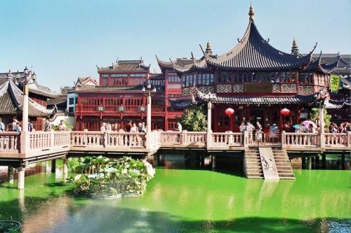 Jardin Yuyuan en Shanghai