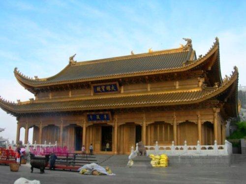 El templo de Jinding Si
