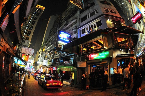 Lan Kwai Fong, comer y beber en Hong Kong