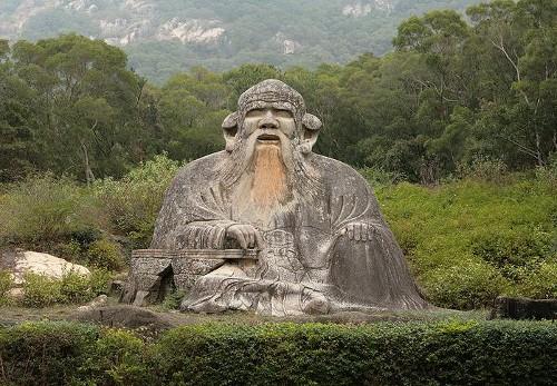Estatua de Lao-Tse en Quanzhou