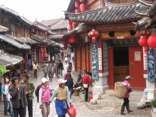 Multiculturalidad en la ciudad antigua de Lijiang