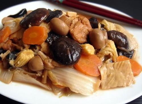 Una receta china: delicias de Buda