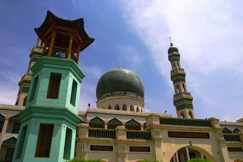Mezquita Dongguan, centro islámico en Xining