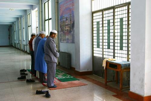 Oraciones en la Mezquita Dongguan