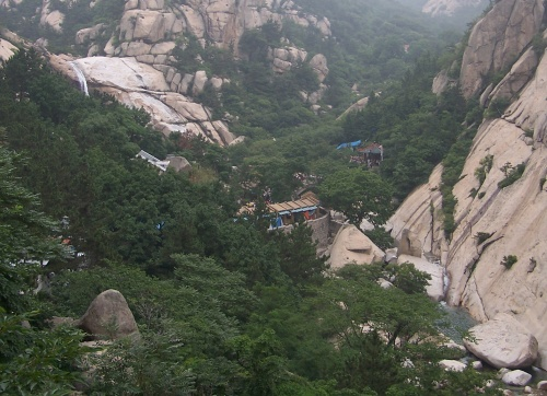 Monte Laoshan en Qingdao