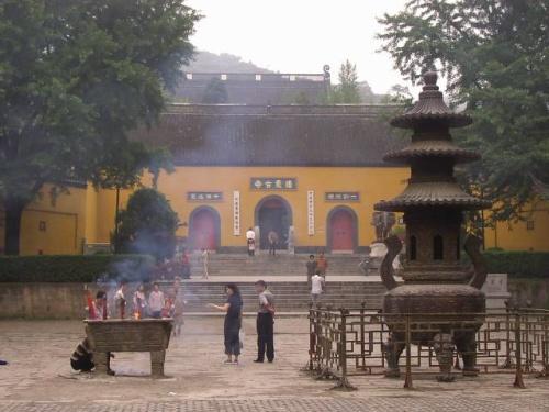 Templo Qixia en Nanjing