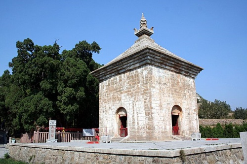 Pagoda de las Cuatro Puertas en Jinan