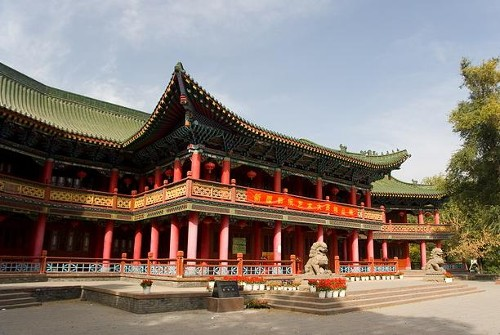 Los parques más bellos de Ürümqi, en Xinjiang