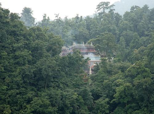 Salon Zhongshan en el parque boscoso de Guiyang