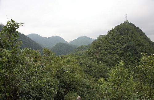 Parque boscoso de Guiyang