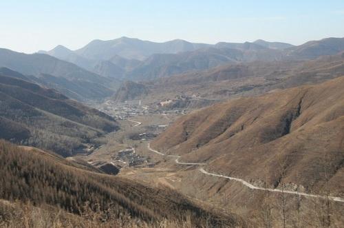 Los picos del Monte Wutai