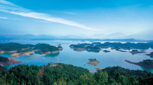 Hotel Sheraton en el lago Qiandao