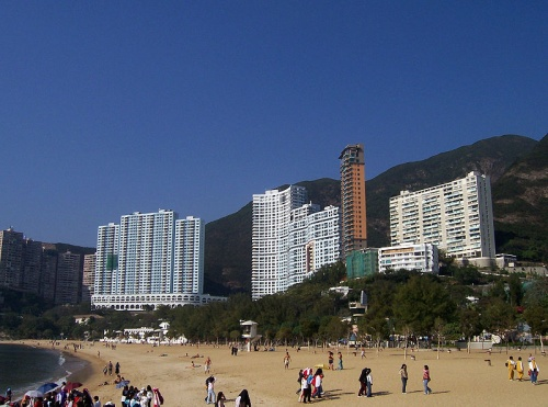 Repulse Bay, hermosa playa de Hong Kong