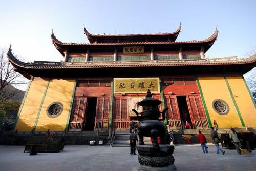 Salon Mahavira en Lingyin
