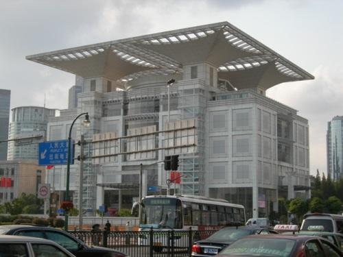 Salon de Exhibicion de la Planeacion Urbana de Shanghai