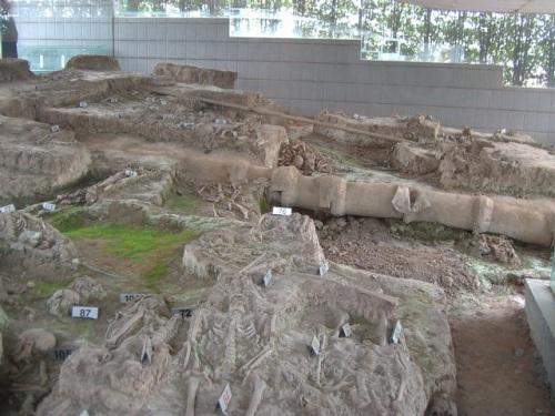 Fosa de los mil cuerpos en Nanjing