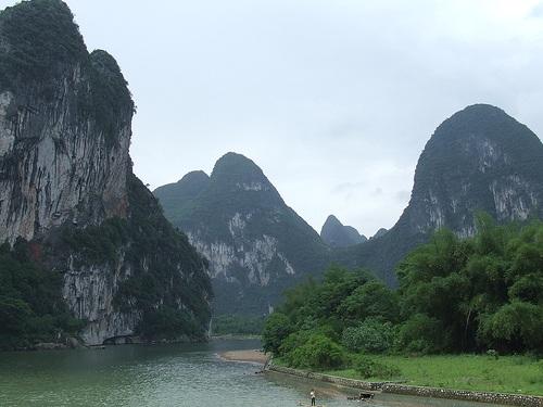 Secciones para visitar el río Li