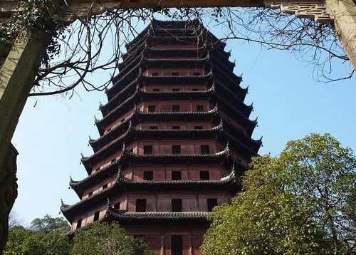 La pagoda de las Seis Armonías, en Hangzhou