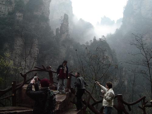 Area Turistica de Zhangjiajie