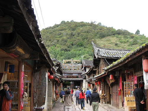 Shuhe, pintoresca villa en Lijiang