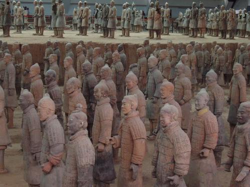 Soldados de Terrracota